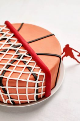Strange Basketball Themed Diy Fondant Birthday Cake Decorating Kit Cakest Funny Birthday Cards Online Aeocydamsfinfo