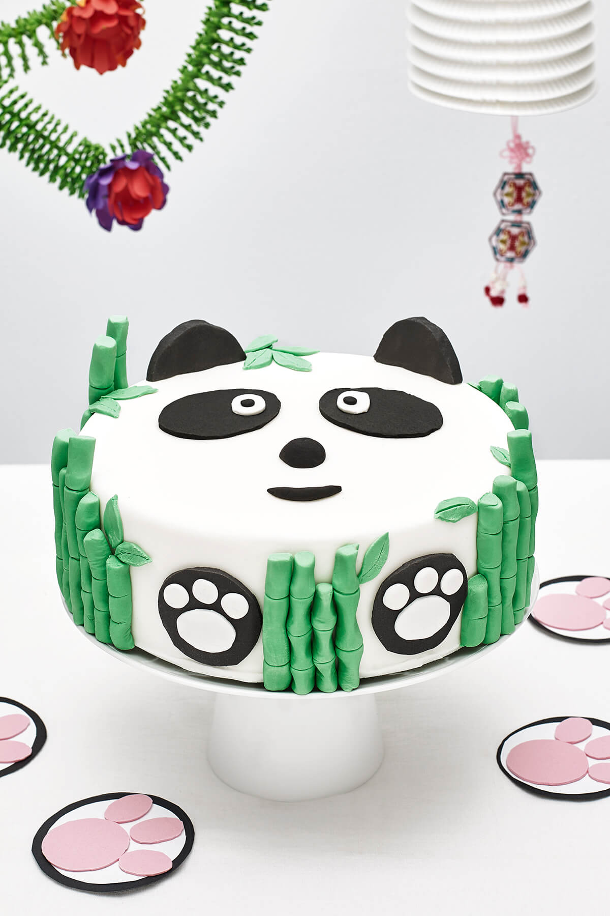 Panda Themed DIY Birthday Cake Decorating Kit for Kids ...