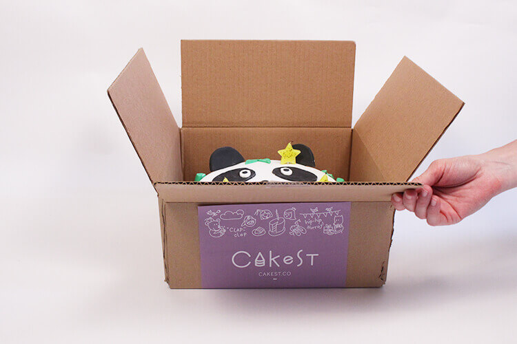 how to deliver your cake safely in box