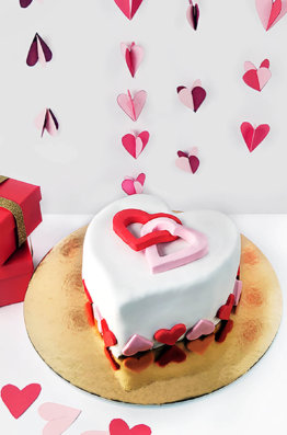 diy heart cake kit cakest 1