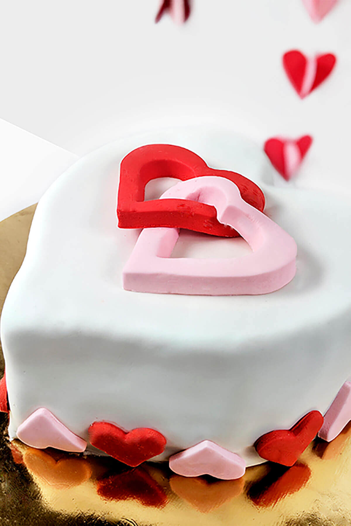 Heart Themed Diy Cake Decorating Kit For Kids And Adult